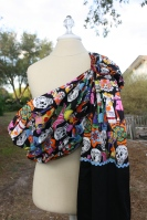 Day of the Dead Ring Sling